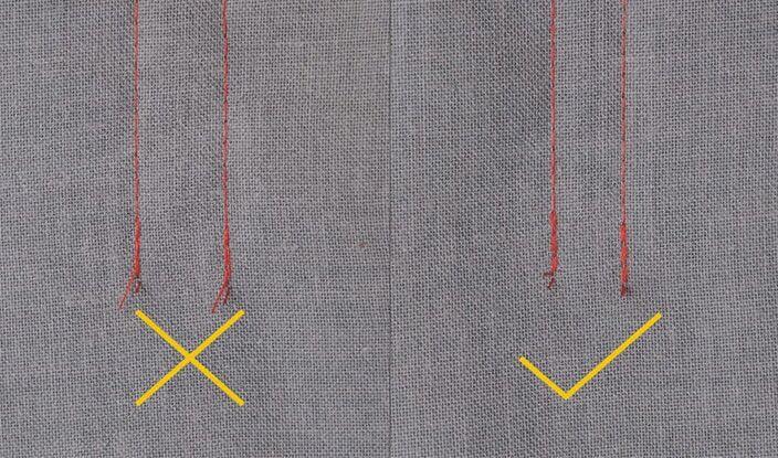 BRUCE R5 Система обрезки ниток с двумя активными ножами
